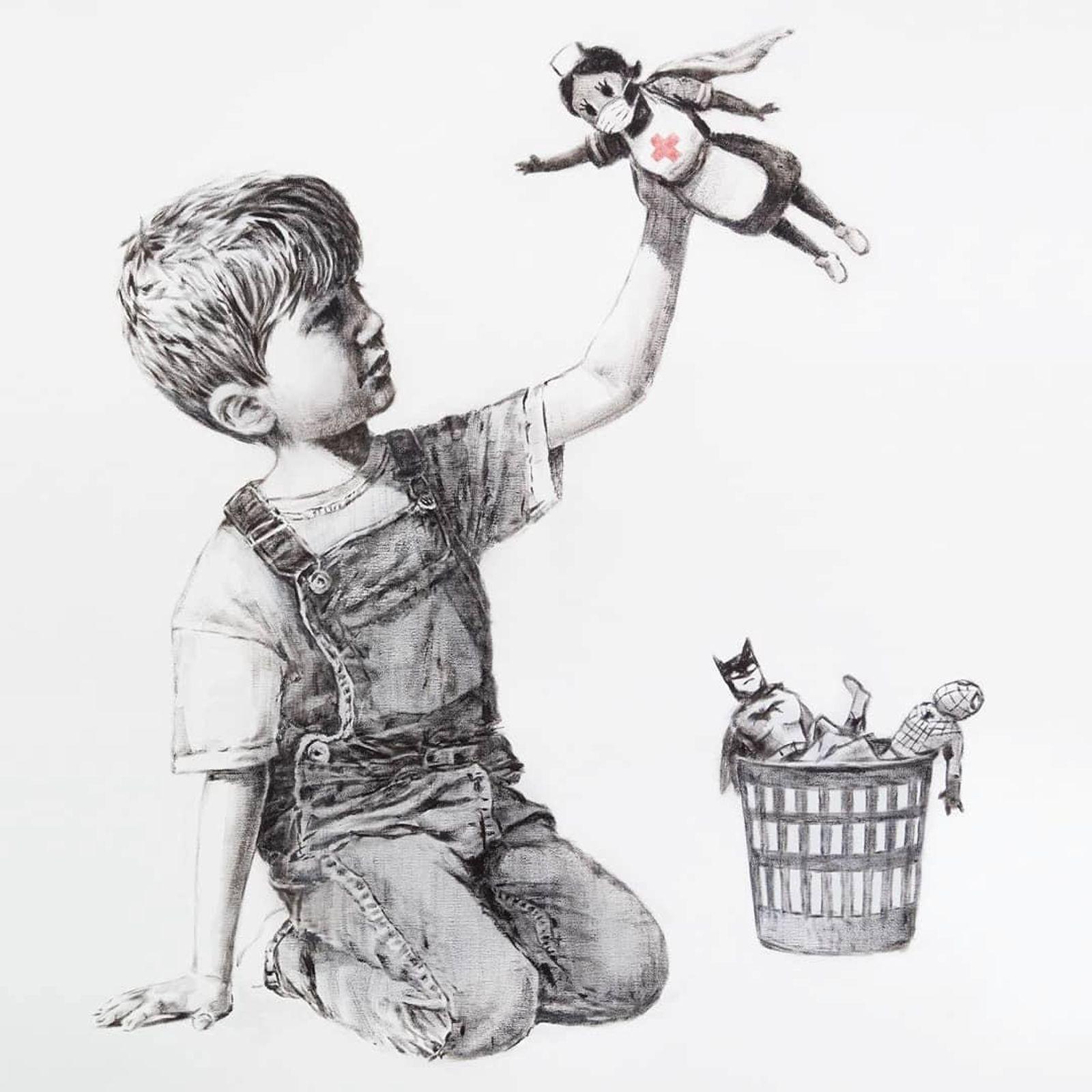 Banksy - NHS