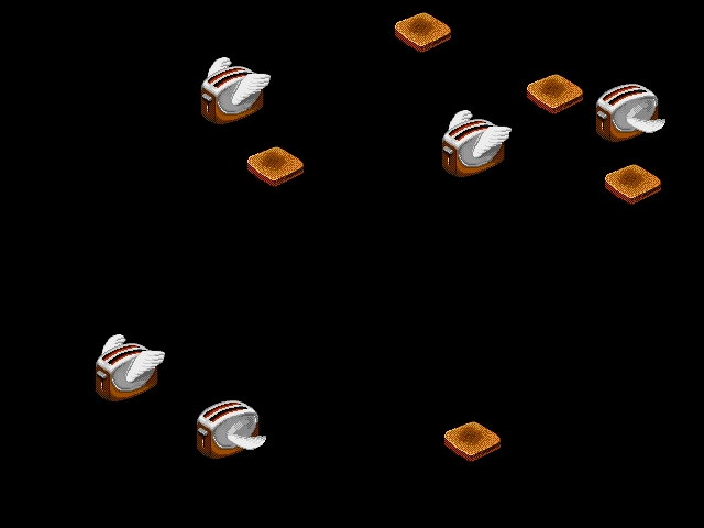 Flying Toasters